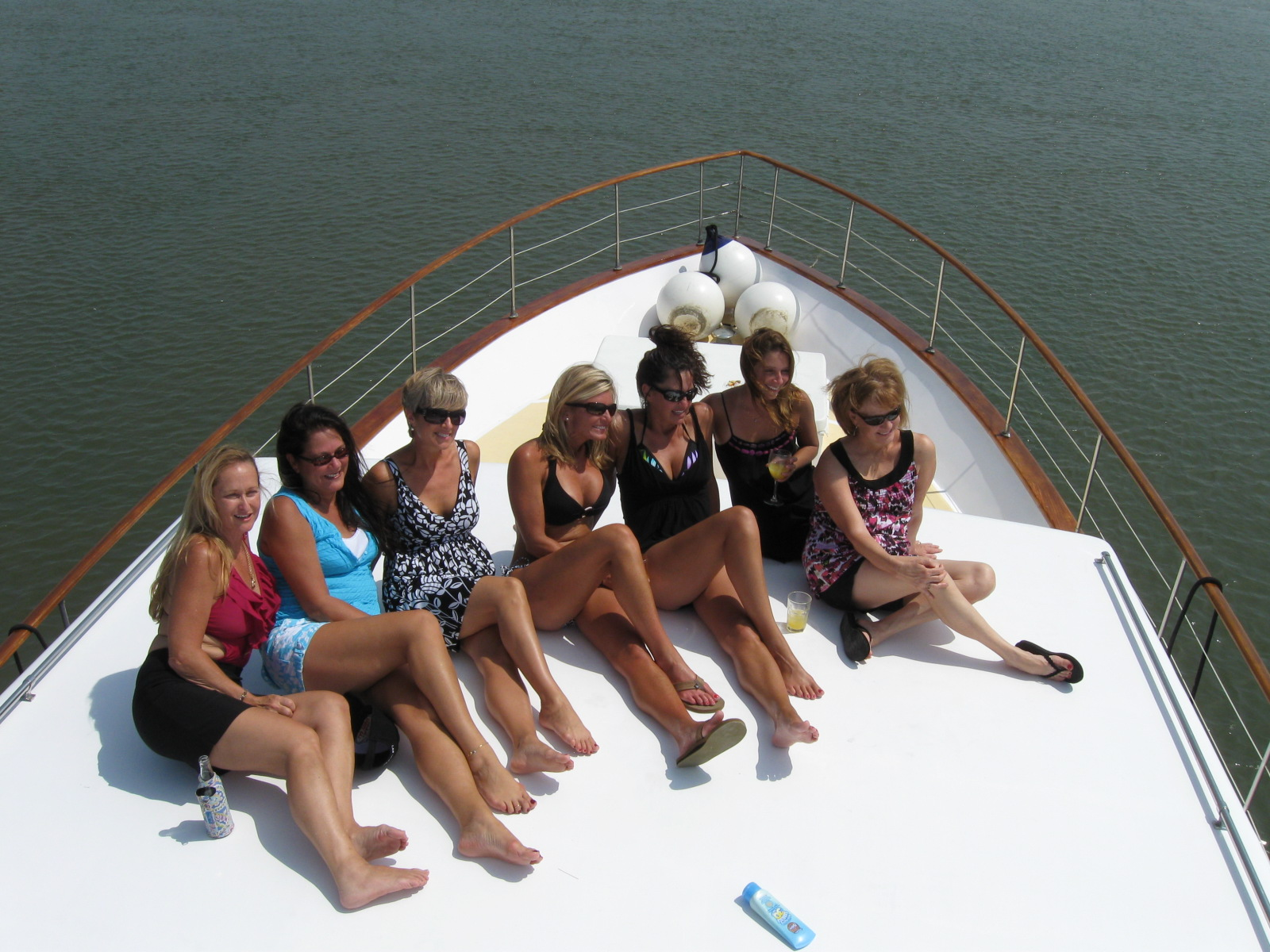 Bridal Party Boat Charters Charleston SC