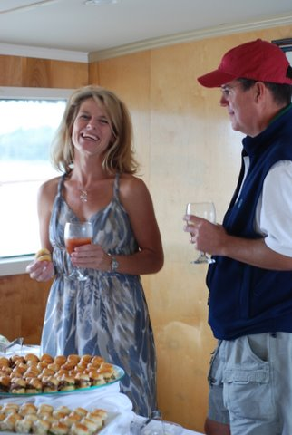 Cocktail Parties on the water in Charleston